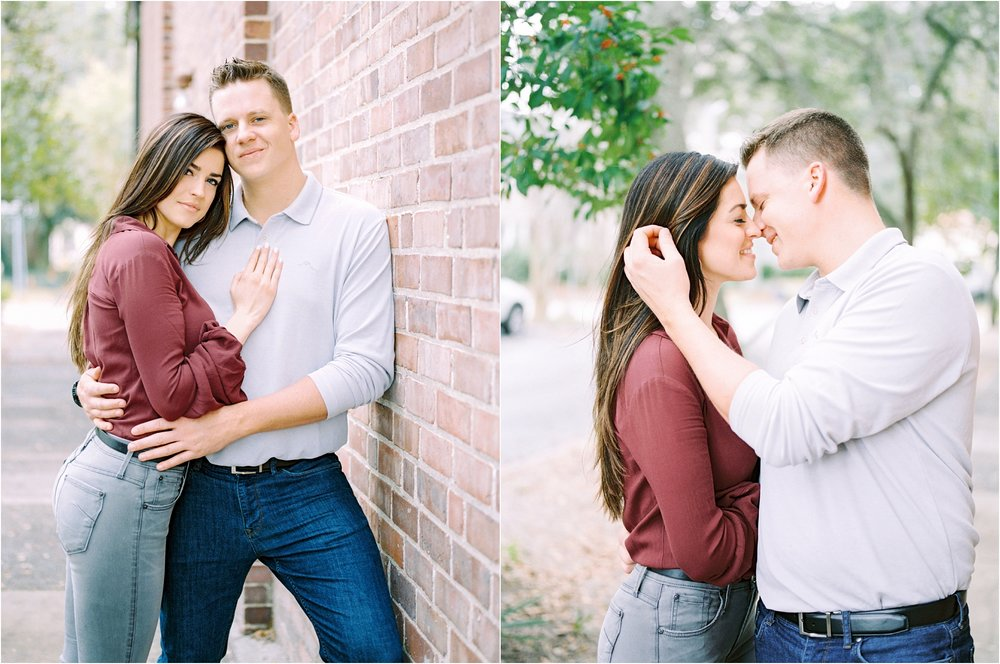 Lisa Silva Photography- Ponte Vedra Beach and Jacksonville, Florida Fine Art Film Wedding Photography- San Marco Jacksonville florida Engagement Session_0019.jpg