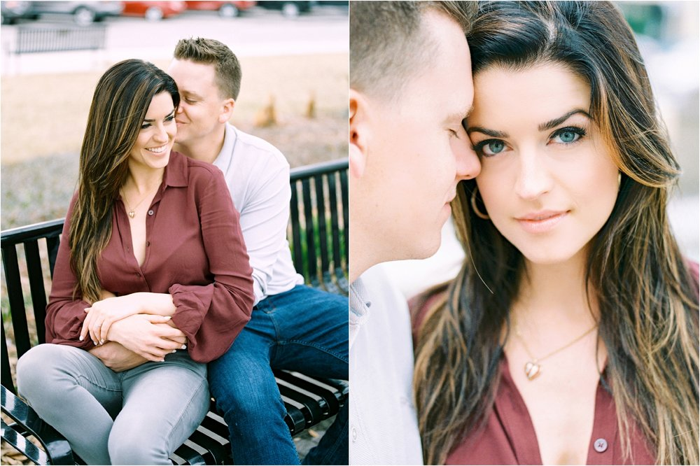 Lisa Silva Photography- Ponte Vedra Beach and Jacksonville, Florida Fine Art Film Wedding Photography- San Marco Jacksonville florida Engagement Session_0028.jpg