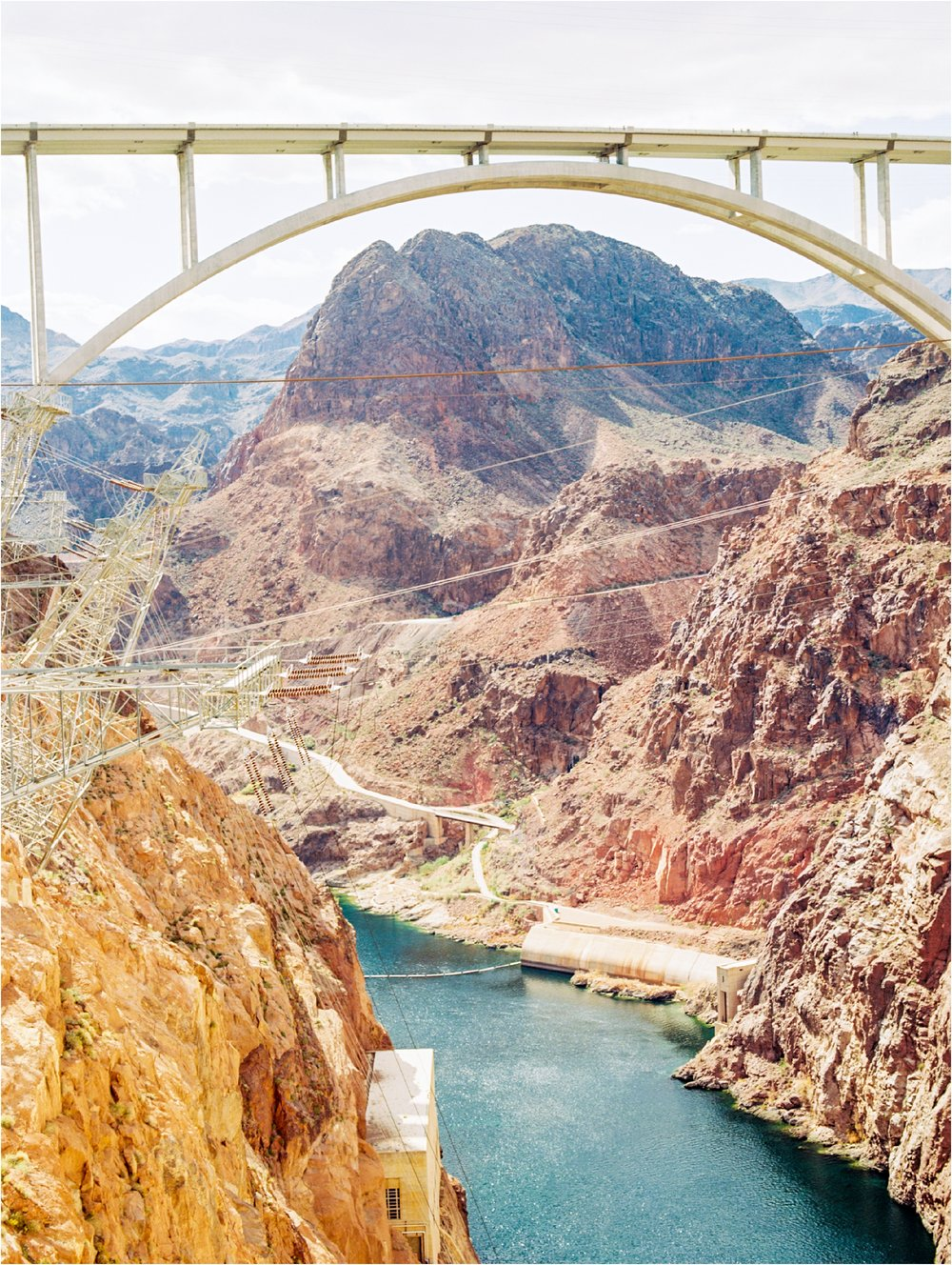 View from the Hoover Dam | Ektar 100 | scanned by  Goodman Film Lab