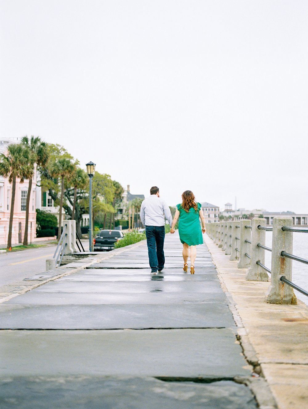 Lisa Silva Photography- Ponte Vedra Beach and Jacksonville, Florida Fine Art Film Wedding Photography- Engagement Session in Historic Charleston, South Carolina_0002.jpg