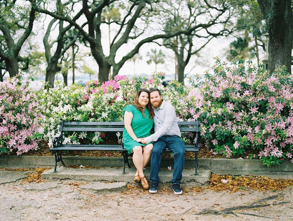 Lisa Silva Photography- Ponte Vedra Beach and Jacksonville, Florida Fine Art Film Wedding Photography- Engagement Session in Historic Charleston, South Carolina_0004.jpg