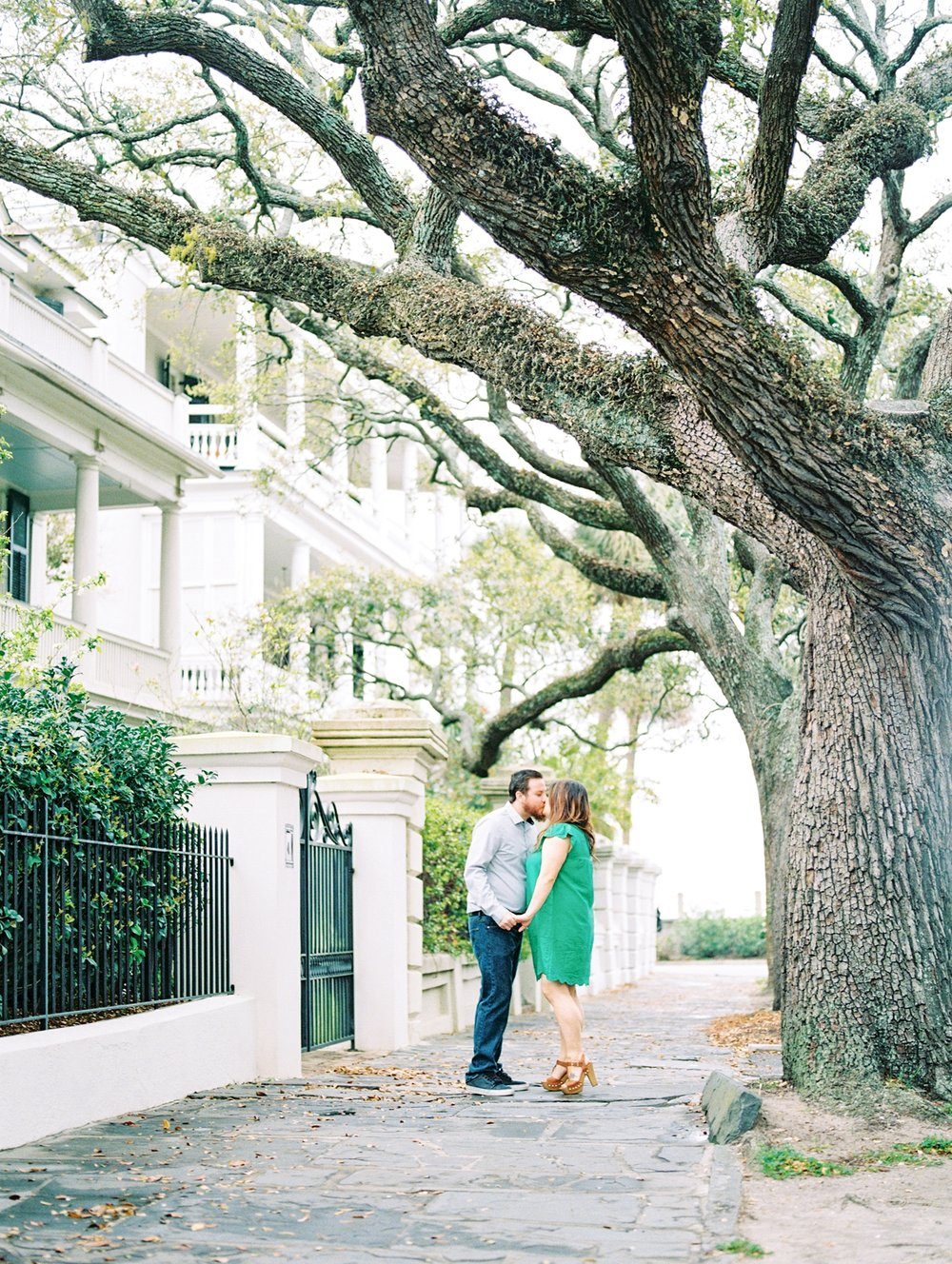 Lisa Silva Photography- Ponte Vedra Beach and Jacksonville, Florida Fine Art Film Wedding Photography- Engagement Session in Historic Charleston, South Carolina_0003.jpg