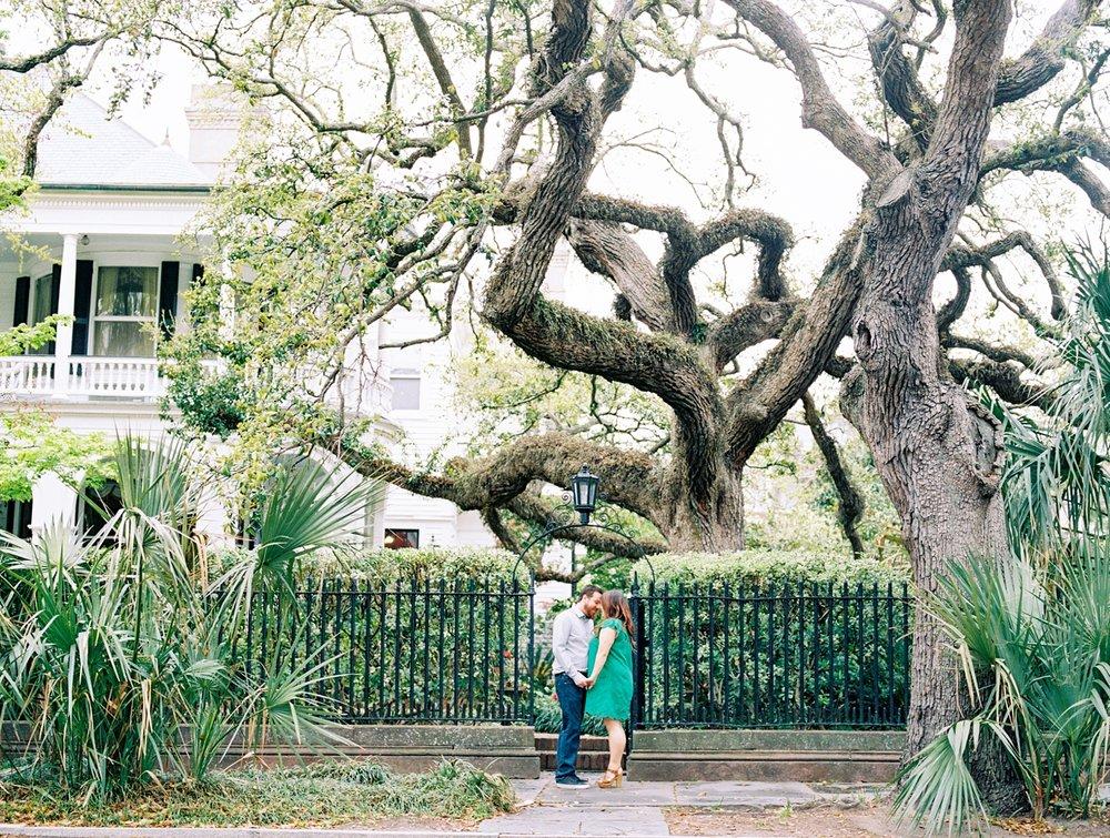 Lisa Silva Photography- Ponte Vedra Beach and Jacksonville, Florida Fine Art Film Wedding Photography- Engagement Session in Historic Charleston, South Carolina_0006.jpg