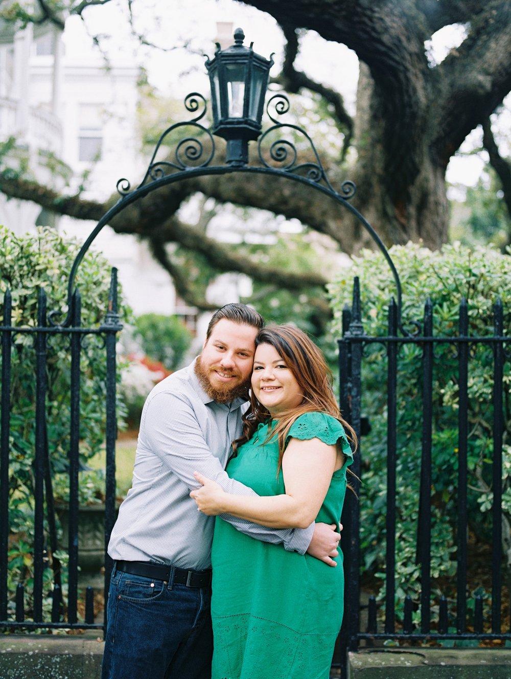 Lisa Silva Photography- Ponte Vedra Beach and Jacksonville, Florida Fine Art Film Wedding Photography- Engagement Session in Historic Charleston, South Carolina_0007.jpg