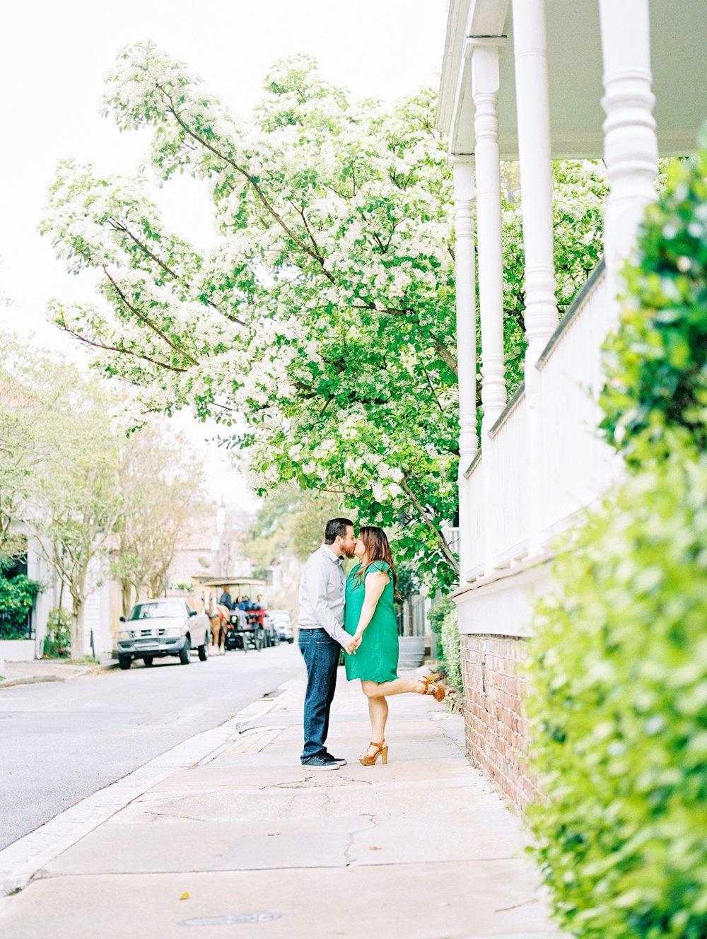 Lisa Silva Photography- Ponte Vedra Beach and Jacksonville, Florida Fine Art Film Wedding Photography- Engagement Session in Historic Charleston, South Carolina_0011.jpg