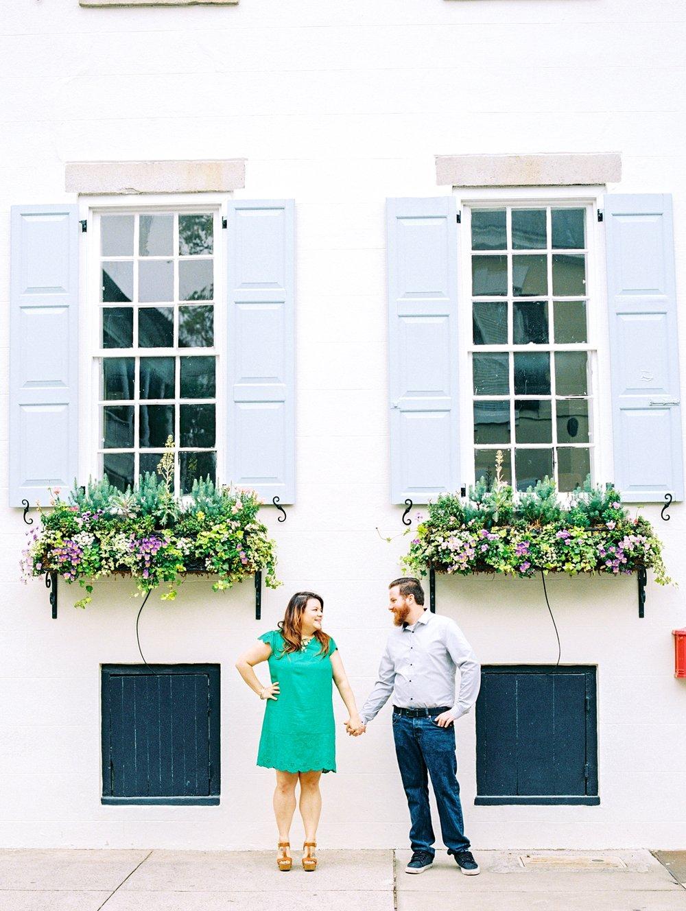 Lisa Silva Photography- Ponte Vedra Beach and Jacksonville, Florida Fine Art Film Wedding Photography- Engagement Session in Historic Charleston, South Carolina_0013.jpg