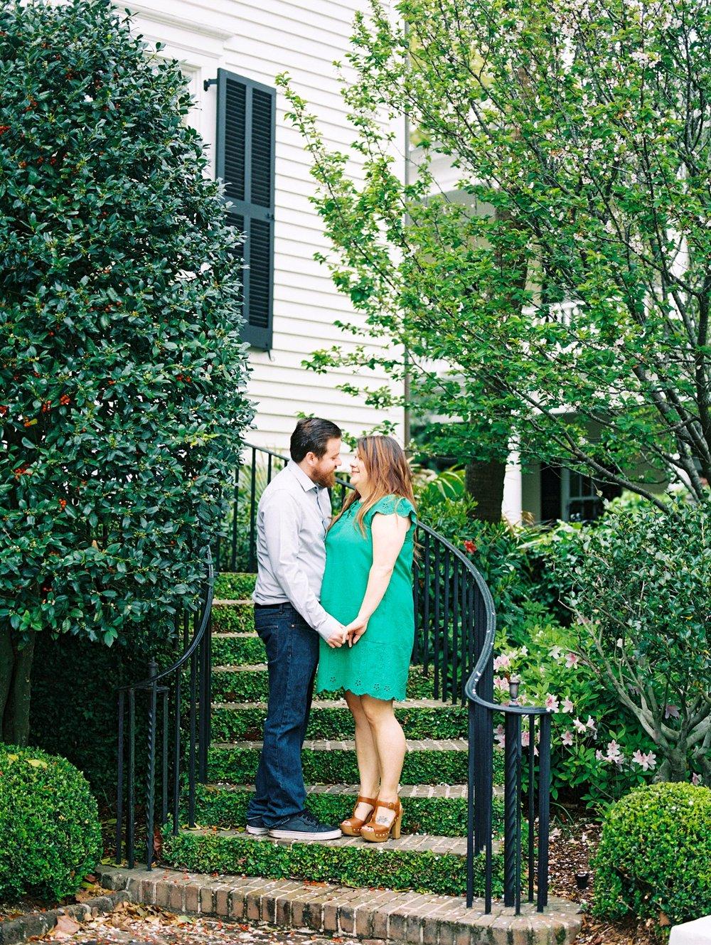 Lisa Silva Photography- Ponte Vedra Beach and Jacksonville, Florida Fine Art Film Wedding Photography- Engagement Session in Historic Charleston, South Carolina_0012.jpg