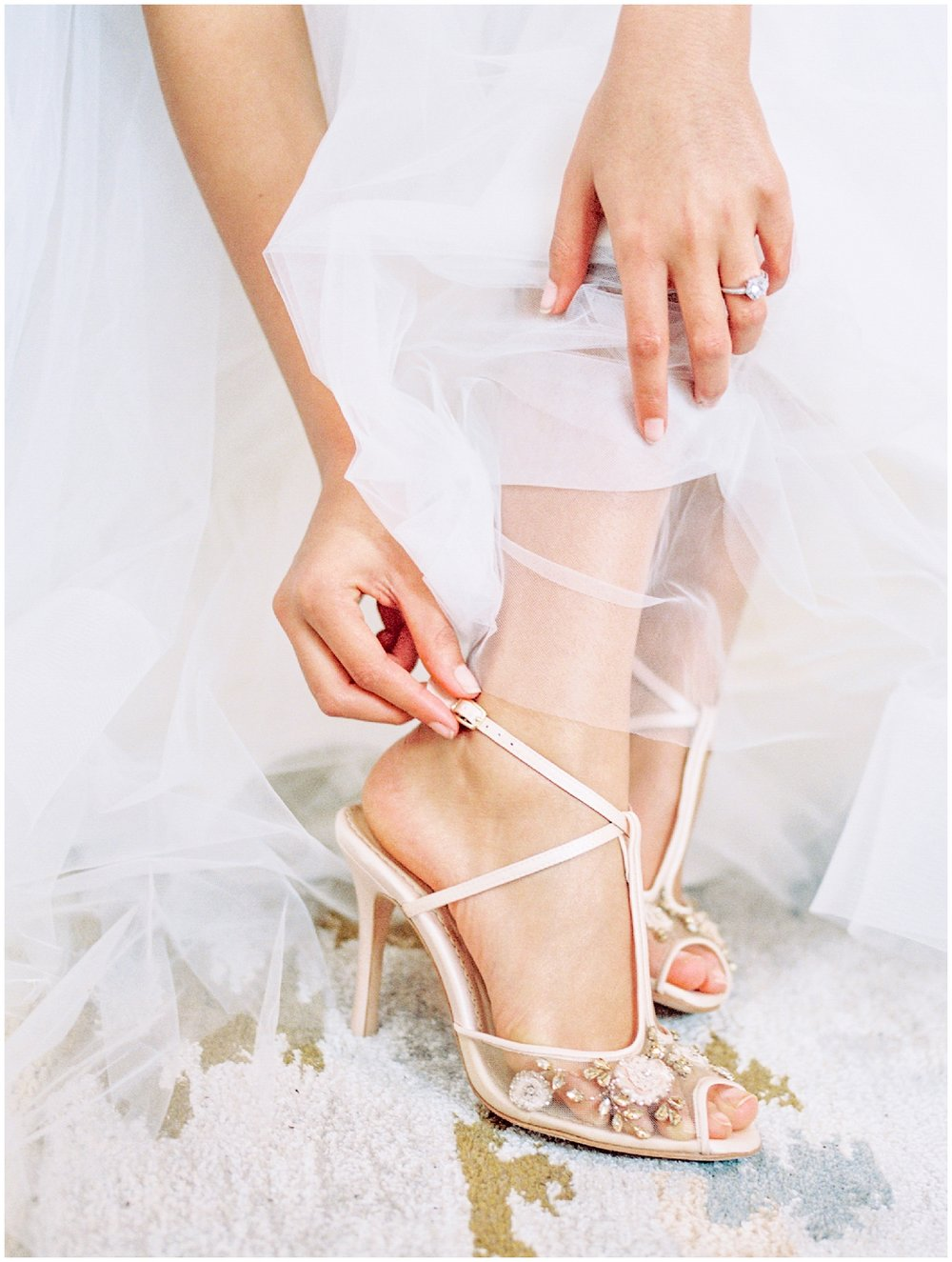 Lisa Silva Photography- Ponte Vedra Beach and Jacksonville, Florida Fine Art Film Wedding Photography- Spring Bridal Shoot at Ellie's Garden in San Marco, Jacksonville_0014.jpg
