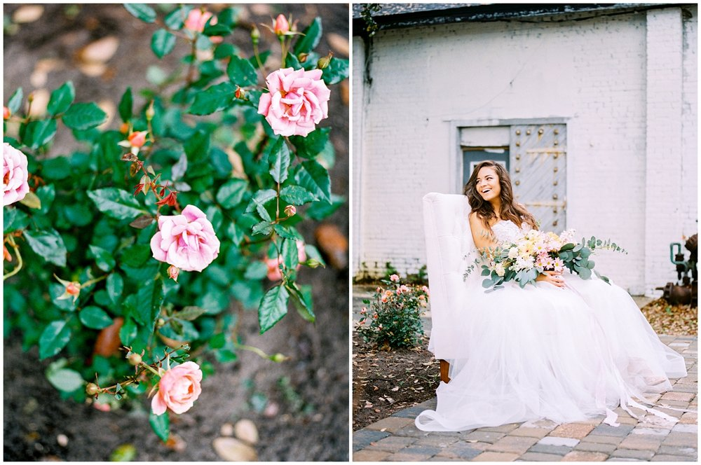 Lisa Silva Photography- Ponte Vedra Beach and Jacksonville, Florida Fine Art Film Wedding Photography- Spring Bridal Shoot at Ellie's Garden in San Marco, Jacksonville_0026.jpg