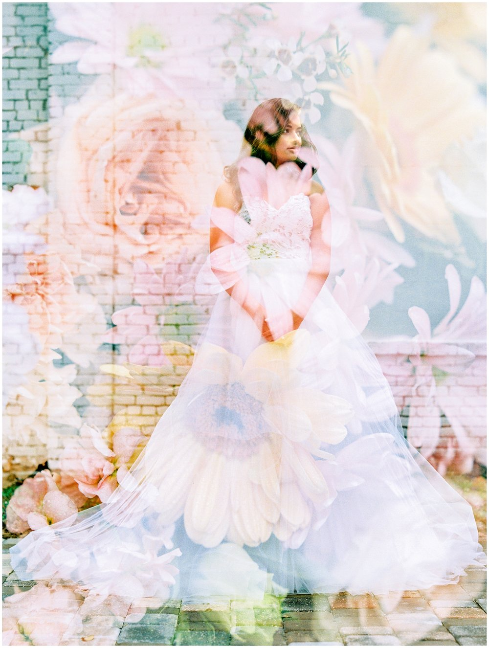 Lisa Silva Photography- Ponte Vedra Beach and Jacksonville, Florida Fine Art Film Wedding Photography- Spring Bridal Shoot at Ellie's Garden in San Marco, Jacksonville_0032.jpg