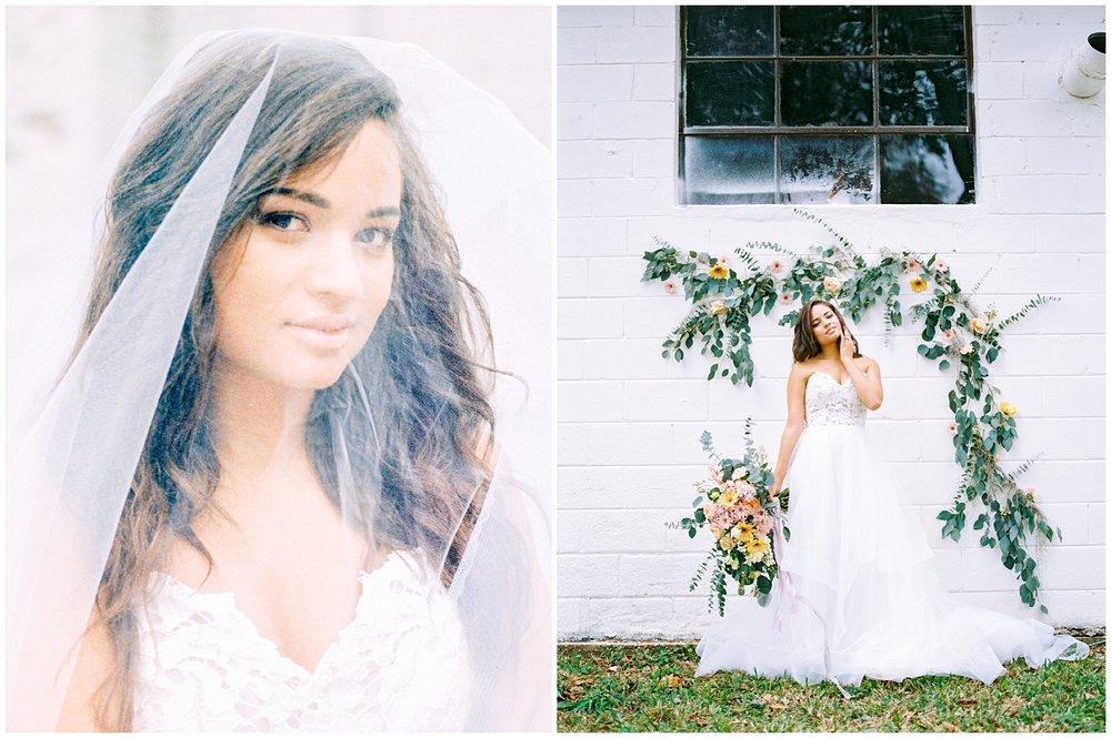 Lisa Silva Photography- Ponte Vedra Beach and Jacksonville, Florida Fine Art Film Wedding Photography- Spring Bridal Shoot at Ellie's Garden in San Marco, Jacksonville_0034.jpg
