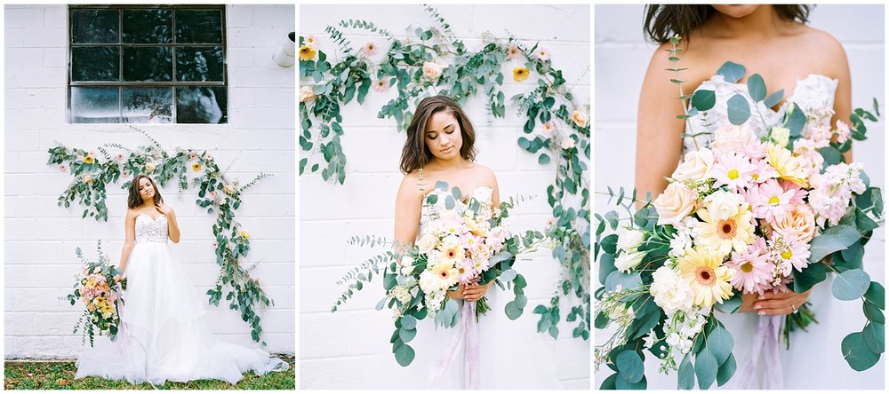Lisa Silva Photography- Ponte Vedra Beach and Jacksonville, Florida Fine Art Film Wedding Photography- Spring Bridal Shoot at Ellie's Garden in San Marco, Jacksonville_0036.jpg