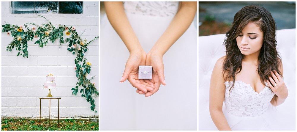 Lisa Silva Photography- Ponte Vedra Beach and Jacksonville, Florida Fine Art Film Wedding Photography- Spring Bridal Shoot at Ellie's Garden in San Marco, Jacksonville_0049.jpg