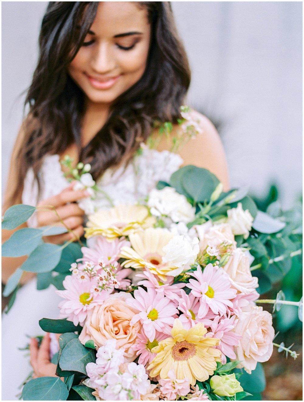 Lisa Silva Photography- Ponte Vedra Beach and Jacksonville, Florida Fine Art Film Wedding Photography- Spring Bridal Shoot at Ellie's Garden in San Marco, Jacksonville_0050.jpg