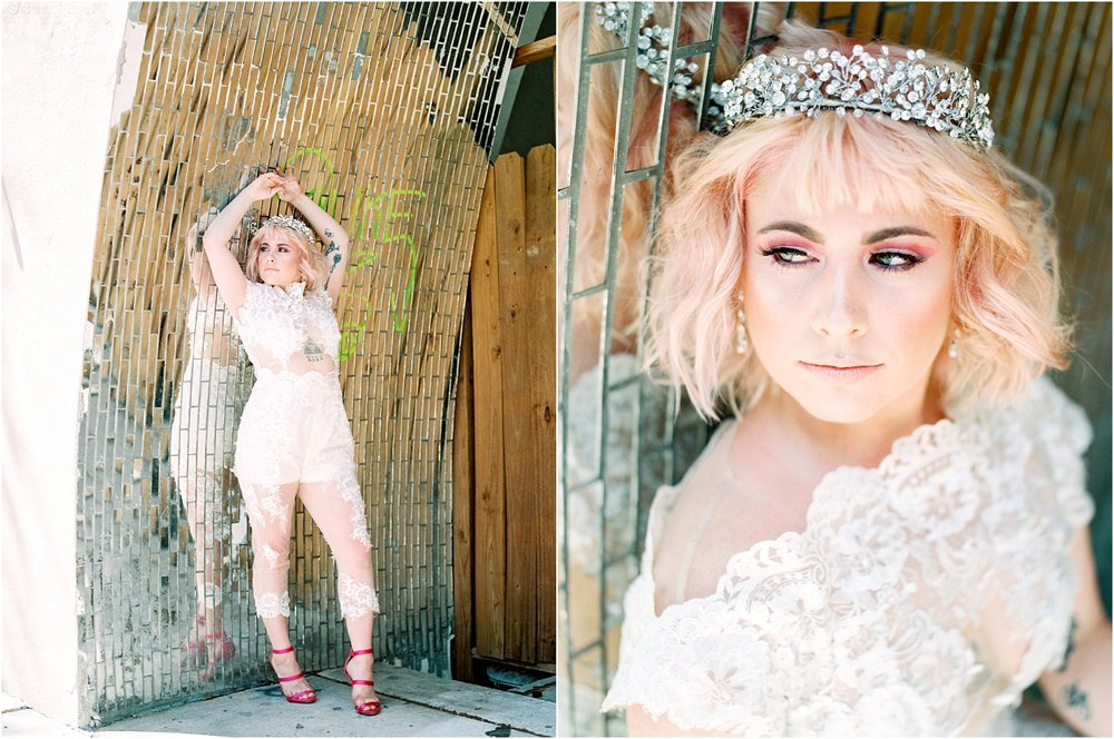 Lisa Silva Photography- Ponte Vedra Beach and Jacksonville, Florida Fine Art Film Wedding Photography- Bridal Jumpsuit Shoot in Downtown Jacksonville, FL_0013.jpg
