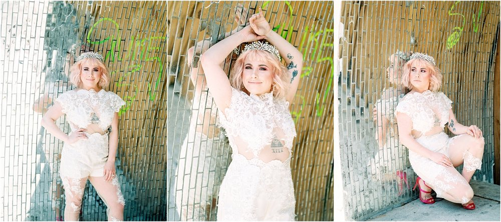 Lisa Silva Photography- Ponte Vedra Beach and Jacksonville, Florida Fine Art Film Wedding Photography- Bridal Jumpsuit Shoot in Downtown Jacksonville, FL_0015.jpg