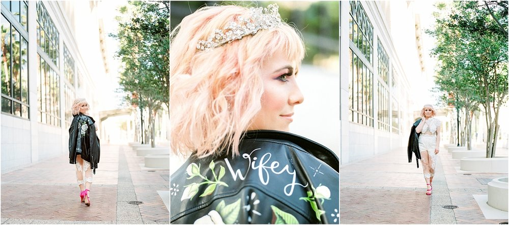 Lisa Silva Photography- Ponte Vedra Beach and Jacksonville, Florida Fine Art Film Wedding Photography- Bridal Jumpsuit Shoot in Downtown Jacksonville, FL_0027.jpg