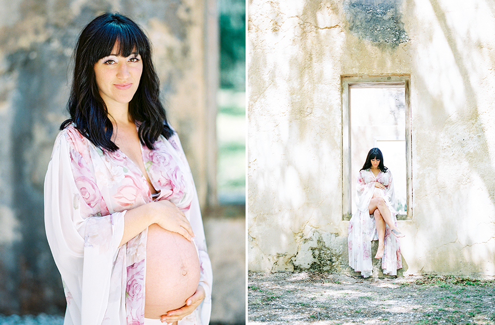 Maternity Session at Horton House Ruins in Jekyll Island, Georgia- Lisa Silva Photography-Jacksonville and St. Augustine Florida Fine Art Film Photography 14.jpg