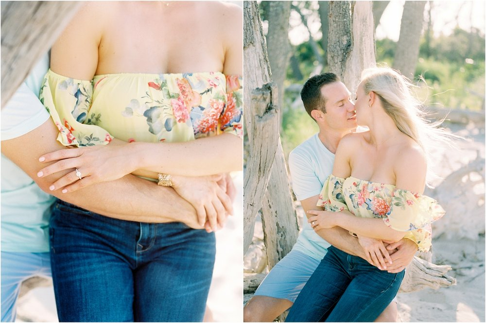 Lisa Silva Photography- Ponte Vedra Beach and Jacksonville, Florida Fine Art Film Wedding Photography- Engagement Shoot at Big Talbot Island_0003.jpg