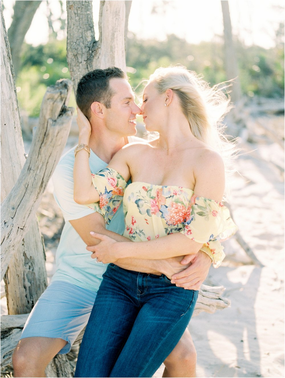 Lisa Silva Photography- Ponte Vedra Beach and Jacksonville, Florida Fine Art Film Wedding Photography- Engagement Shoot at Big Talbot Island_0002.jpg