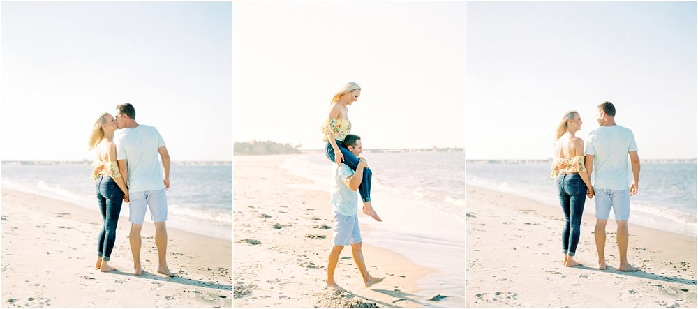 Lisa Silva Photography- Ponte Vedra Beach and Jacksonville, Florida Fine Art Film Wedding Photography- Engagement Shoot at Big Talbot Island_0006.jpg