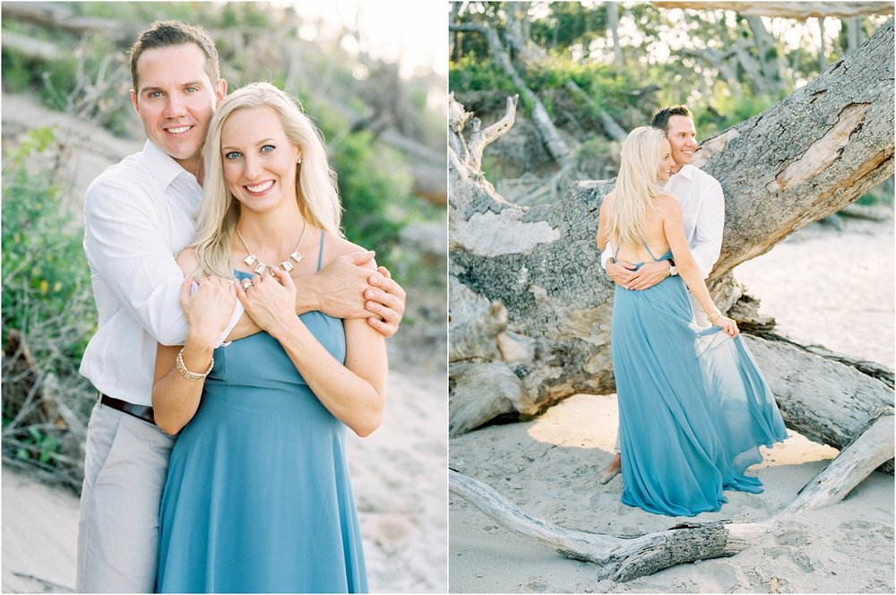 Lisa Silva Photography- Ponte Vedra Beach and Jacksonville, Florida Fine Art Film Wedding Photography- Engagement Shoot at Big Talbot Island_0022.jpg
