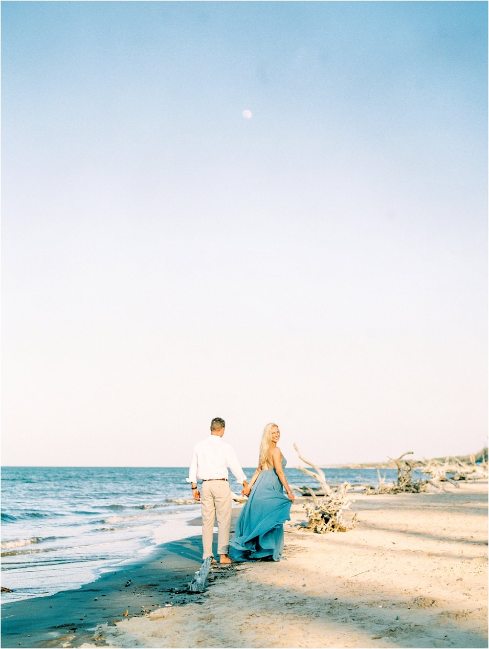 Lisa Silva Photography- Ponte Vedra Beach and Jacksonville, Florida Fine Art Film Wedding Photography- Engagement Shoot at Big Talbot Island_0029.jpg