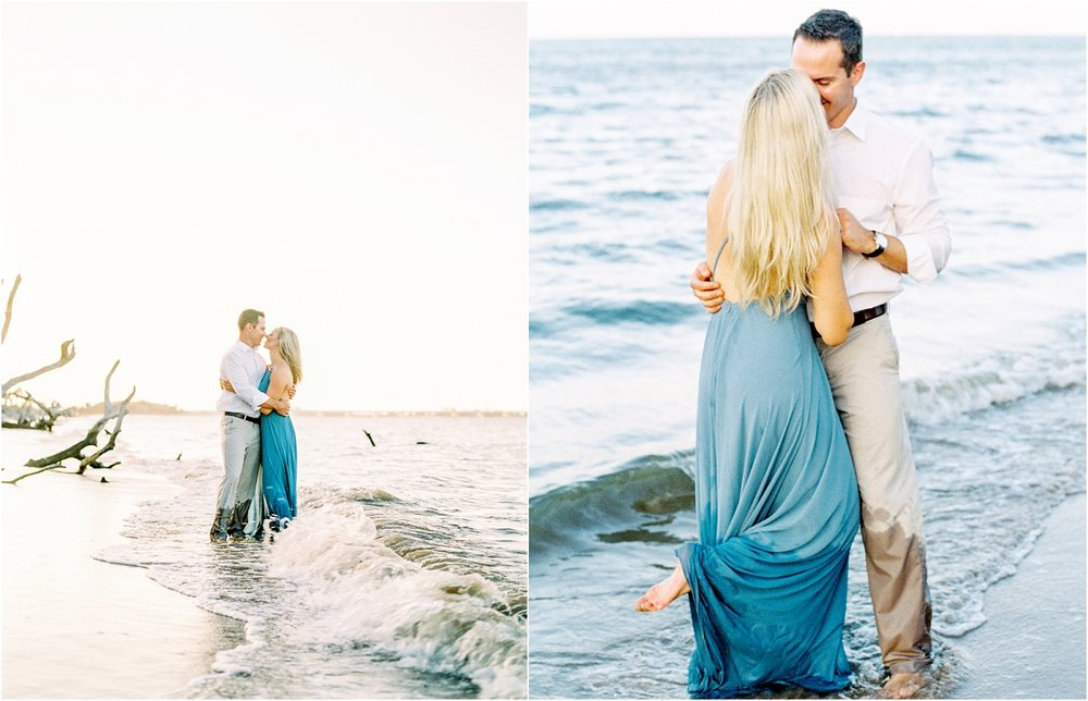 Lisa Silva Photography- Ponte Vedra Beach and Jacksonville, Florida Fine Art Film Wedding Photography- Engagement Shoot at Big Talbot Island_0034.jpg