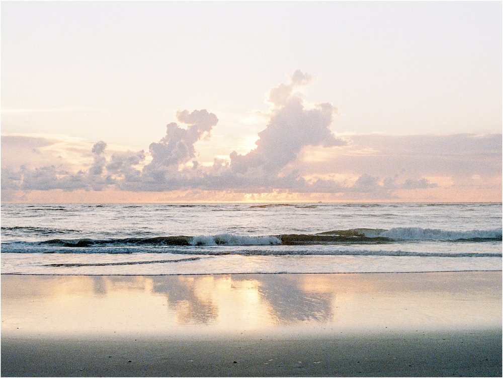 Lisa Silva Photography- Ponte Vedra Beach, St. Augustine and Jacksonville, Florida Fine Art Film Wedding Photography- Sunrise Engagement Shoot at  Vilano Beach_0040aaa.jpg