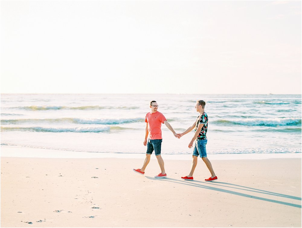 Lisa Silva Photography- Ponte Vedra Beach, St. Augustine and Jacksonville, Florida Fine Art Film Wedding Photography- Sunrise Engagement Shoot at  Vilano Beach_0063.jpg