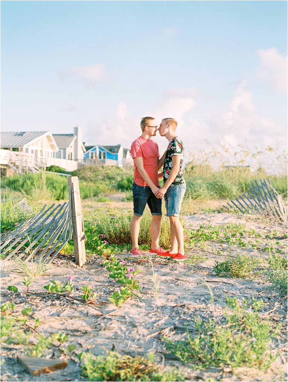 Lisa Silva Photography- Ponte Vedra Beach, St. Augustine and Jacksonville, Florida Fine Art Film Wedding Photography- Sunrise Engagement Shoot at  Vilano Beach_0067.jpg