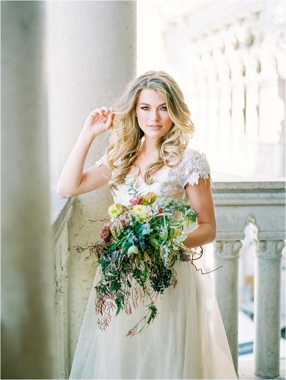 Lisa Silva Photography- Ponte Vedra Beach, St. Augustine and Jacksonville, Florida Fine Art Film Wedding and Boudoir Photography- Fine Art Film Bridal Editorial at the Venitian, Las Vegas_0020.jpg