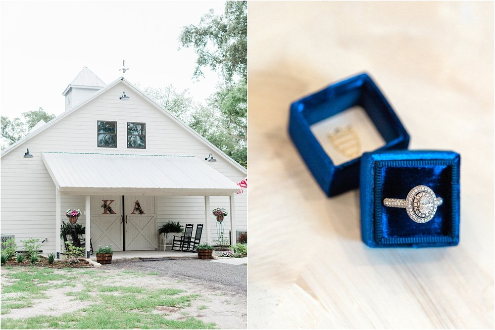 Lisa Silva Photography- Ponte Vedra Beach, St. Augustine and Jacksonville, Florida Fine Art Film Wedding and Boudoir Photography- Elegant Blush and Navy Wedding at Chandler Oaks Barn in St. Augustine, Florida_0002.jpg