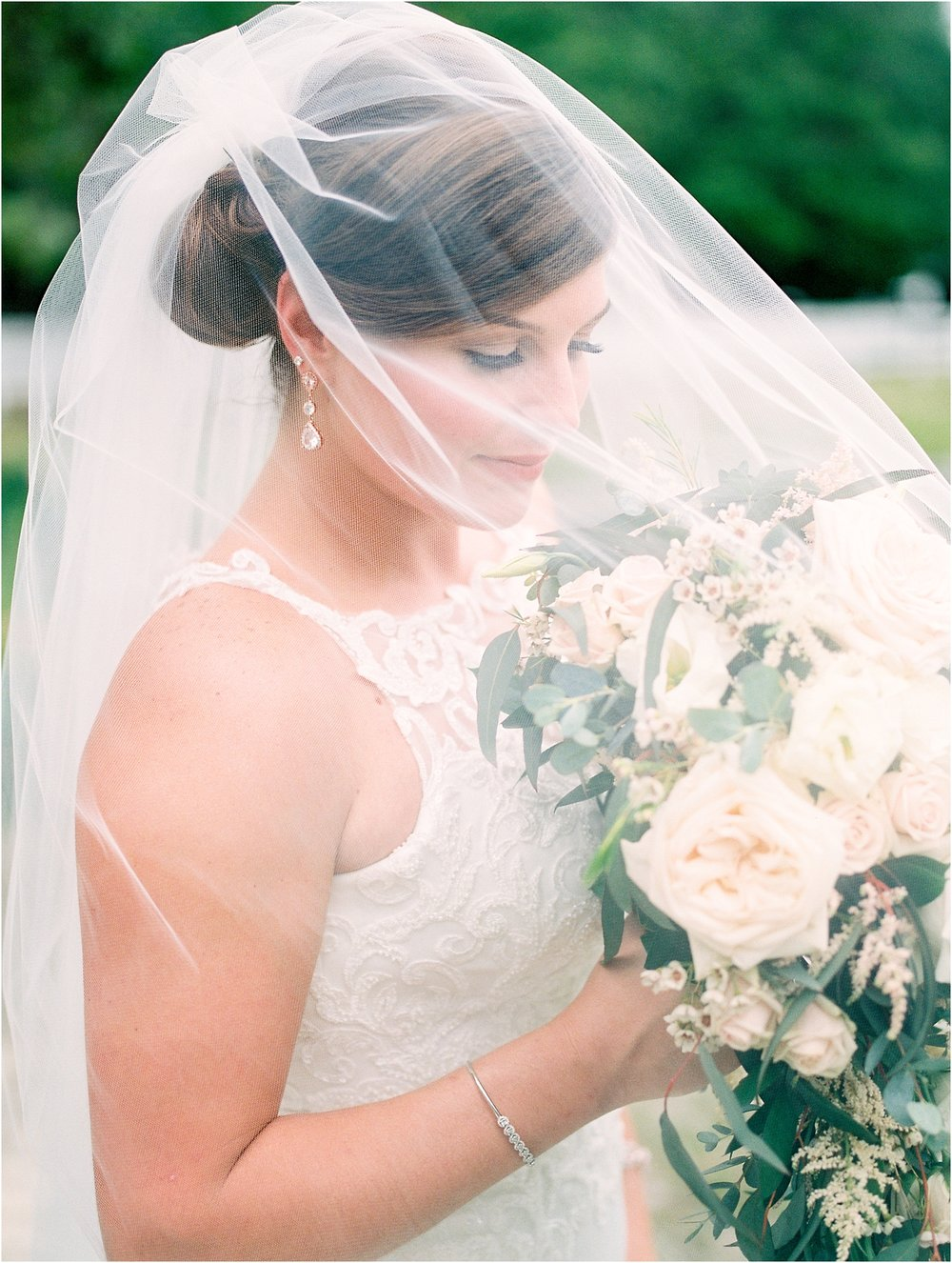 Lisa Silva Photography- Ponte Vedra Beach, St. Augustine and Jacksonville, Florida Fine Art Film Wedding and Boudoir Photography- Elegant Blush and Navy Wedding at Chandler Oaks Barn in St. Augustine, Florida_0025 0.jpg