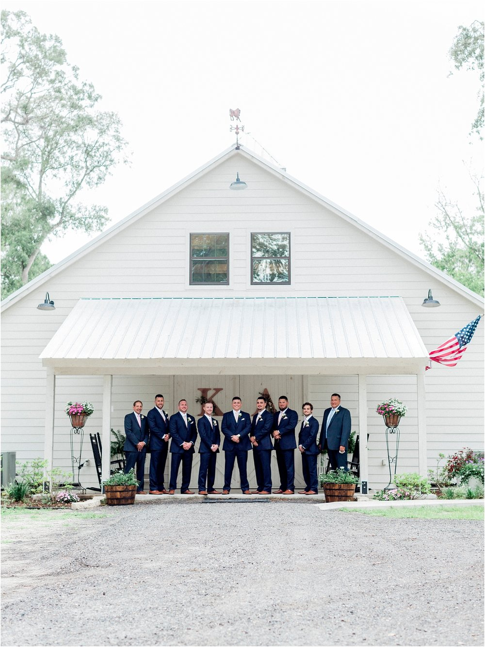 Lisa Silva Photography- Ponte Vedra Beach, St. Augustine and Jacksonville, Florida Fine Art Film Wedding and Boudoir Photography- Elegant Blush and Navy Wedding at Chandler Oaks Barn in St. Augustine, Florida_0043.jpg