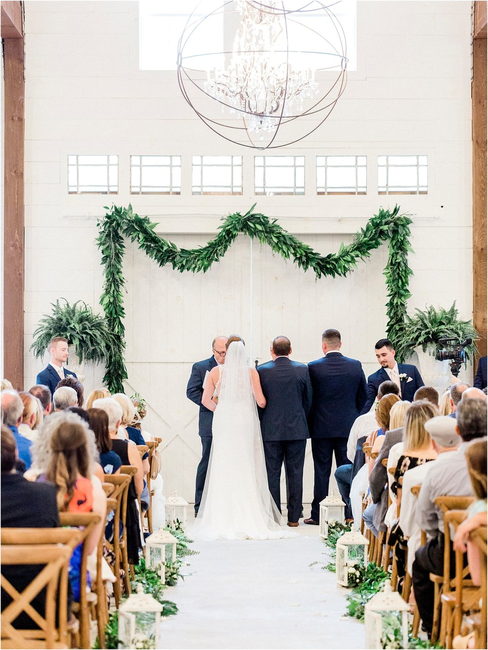 Lisa Silva Photography- Ponte Vedra Beach, St. Augustine and Jacksonville, Florida Fine Art Film Wedding and Boudoir Photography- Elegant Blush and Navy Wedding at Chandler Oaks Barn in St. Augustine, Florida_0065.jpg