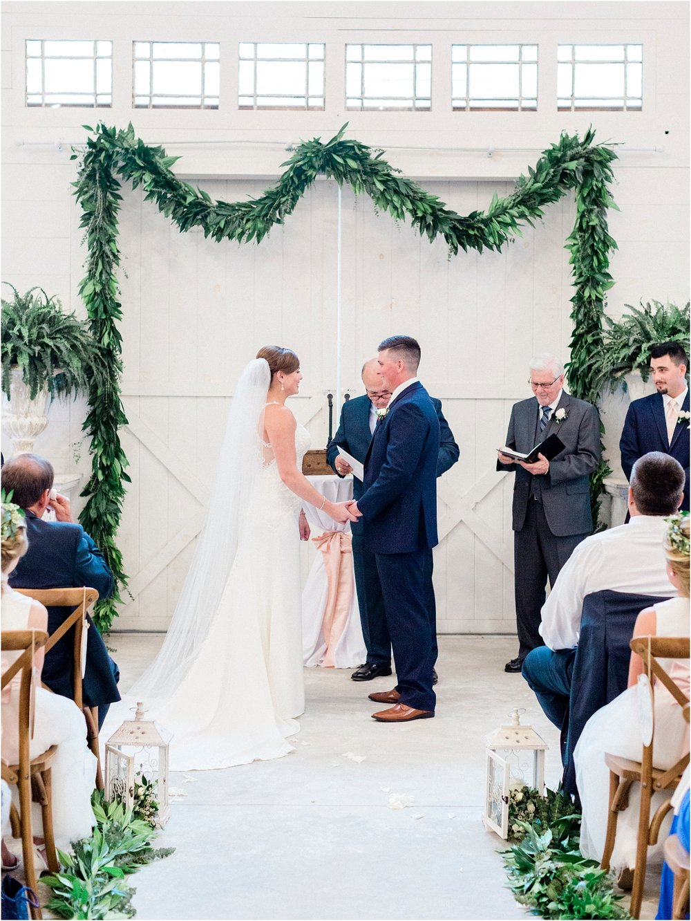 Lisa Silva Photography- Ponte Vedra Beach, St. Augustine and Jacksonville, Florida Fine Art Film Wedding and Boudoir Photography- Elegant Blush and Navy Wedding at Chandler Oaks Barn in St. Augustine, Florida_0067.jpg