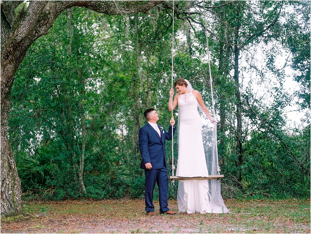 Lisa Silva Photography- Ponte Vedra Beach, St. Augustine and Jacksonville, Florida Fine Art Film Wedding and Boudoir Photography- Elegant Blush and Navy Wedding at Chandler Oaks Barn in St. Augustine, Florida_0089.jpg
