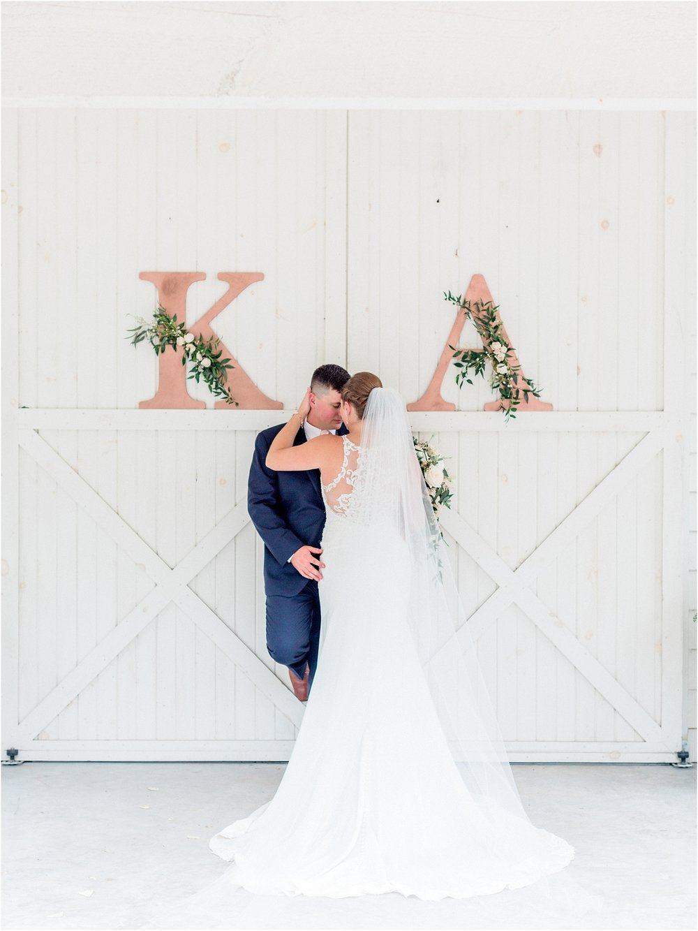 Lisa Silva Photography- Ponte Vedra Beach, St. Augustine and Jacksonville, Florida Fine Art Film Wedding and Boudoir Photography- Elegant Blush and Navy Wedding at Chandler Oaks Barn in St. Augustine, Florida_0090.jpg