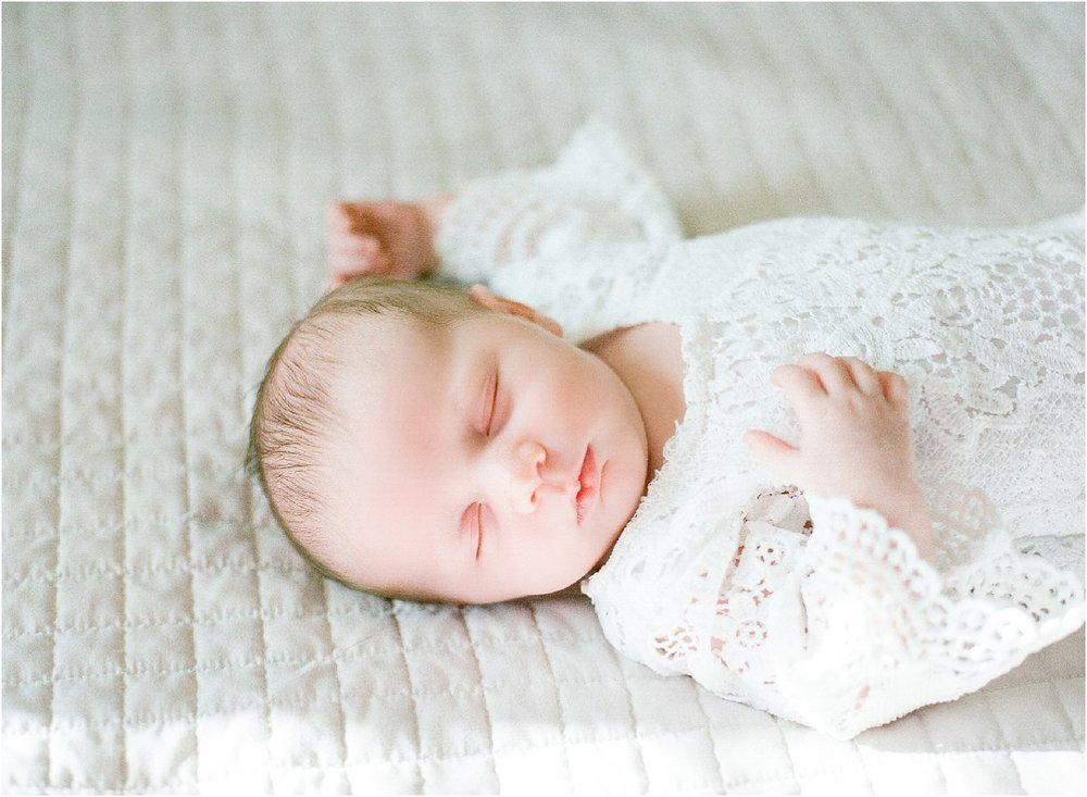 Lisa Silva Photography- Ponte Vedra Beach, St. Augustine and Jacksonville, Florida Fine Art Film Wedding and Boudoir Photography- Newborn Lifestyle Session at Home_0018.jpg