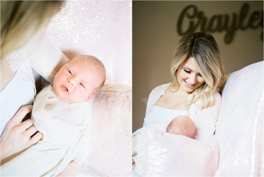 Lisa Silva Photography- Ponte Vedra Beach, St. Augustine and Jacksonville, Florida Fine Art Film Wedding and Boudoir Photography- Newborn Lifestyle Session at Home_0003.jpg