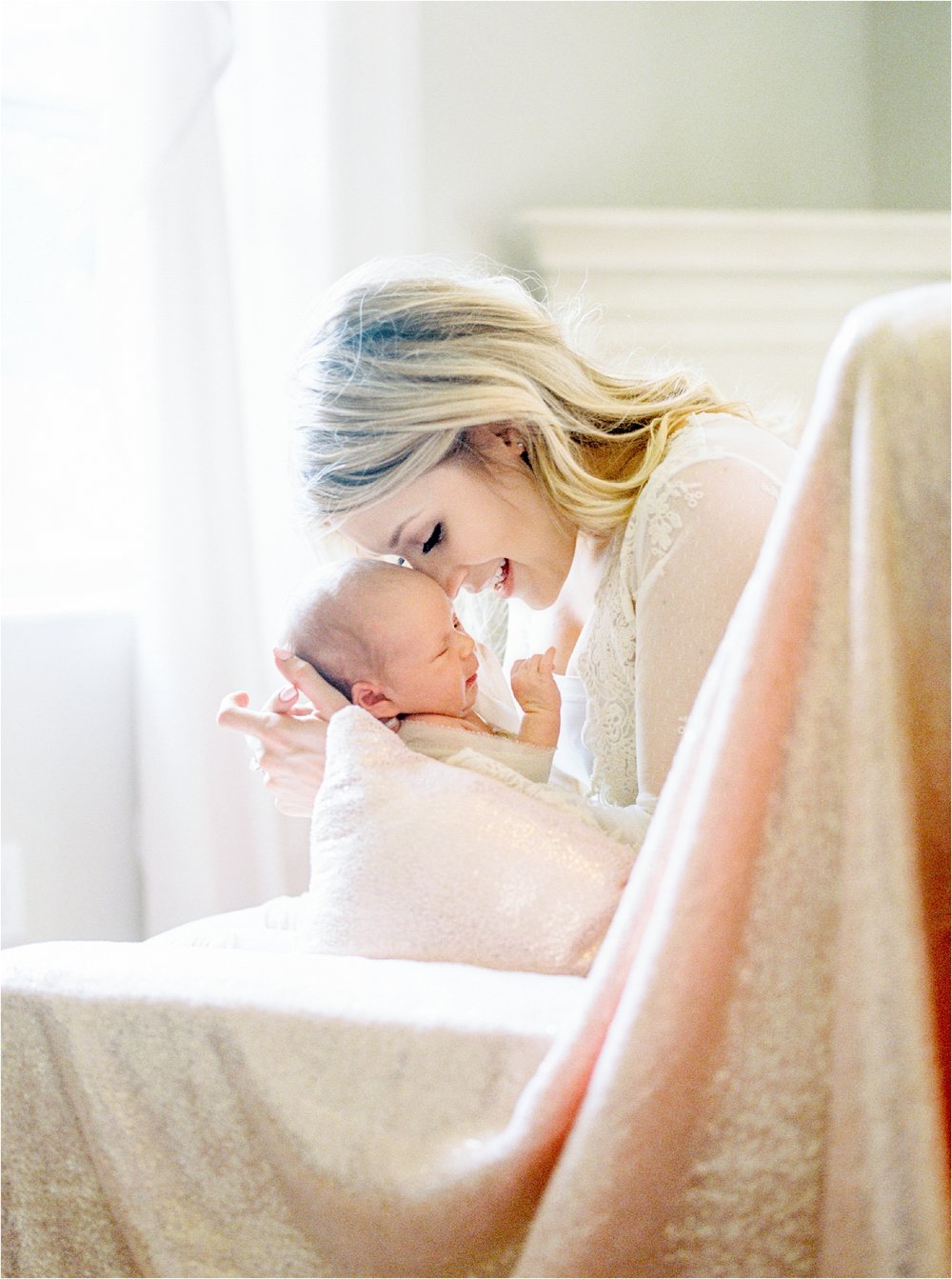 Lisa Silva Photography- Ponte Vedra Beach, St. Augustine and Jacksonville, Florida Fine Art Film Wedding and Boudoir Photography- Newborn Lifestyle Session at Home_0005.jpg