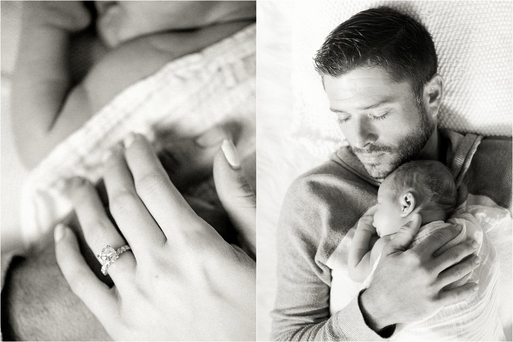 Lisa Silva Photography- Ponte Vedra Beach, St. Augustine and Jacksonville, Florida Fine Art Film Wedding and Boudoir Photography- Newborn Lifestyle Session at Home_0009.jpg