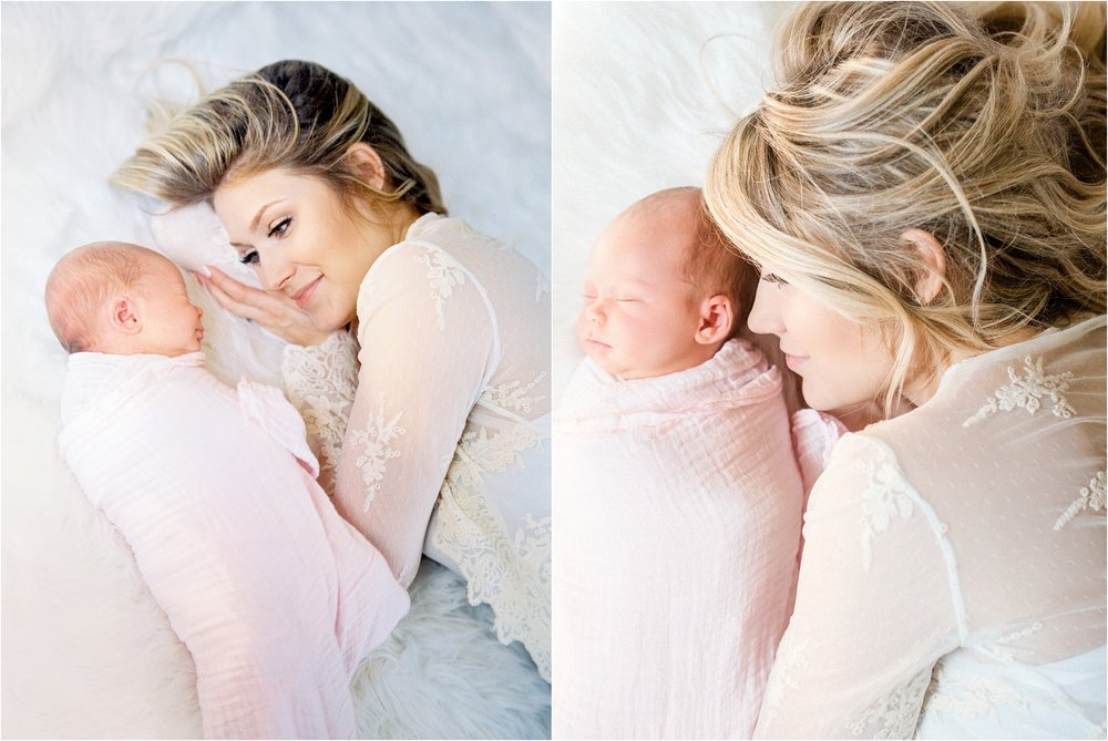 Lisa Silva Photography- Ponte Vedra Beach, St. Augustine and Jacksonville, Florida Fine Art Film Wedding and Boudoir Photography- Newborn Lifestyle Session at Home_0015.jpg