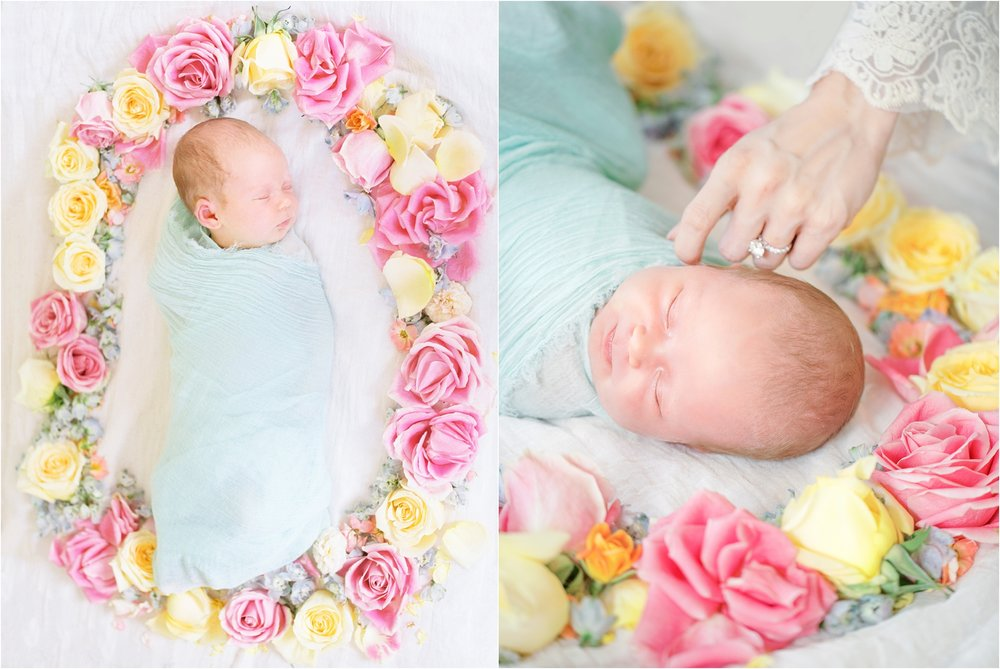 Lisa Silva Photography- Ponte Vedra Beach, St. Augustine and Jacksonville, Florida Fine Art Film Wedding and Boudoir Photography- Newborn Lifestyle Session at Home_0029.jpg