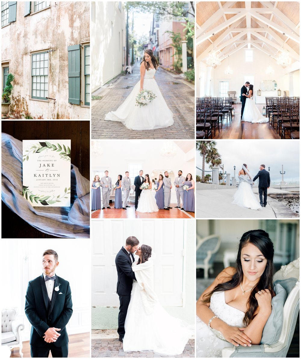 Kaitlyn and Jake | The White Room | St. Augustine, Florida