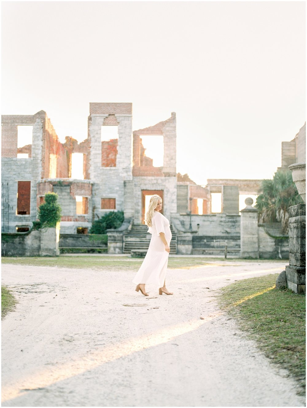 Lisa Silva Photography -Maternity Session at Cumberland Island, Georgia - Jacksonville and North East Florida Fine Art Film Photographer_0028.jpg