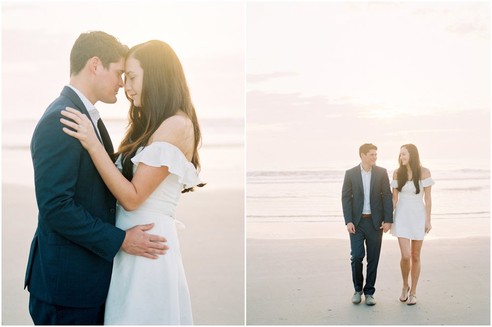 Lisa Silva Photography -Engagement Session at Neptune Beach, Florida- Jacksonville and North East Florida Fine Art Film Photographer_0003.jpg