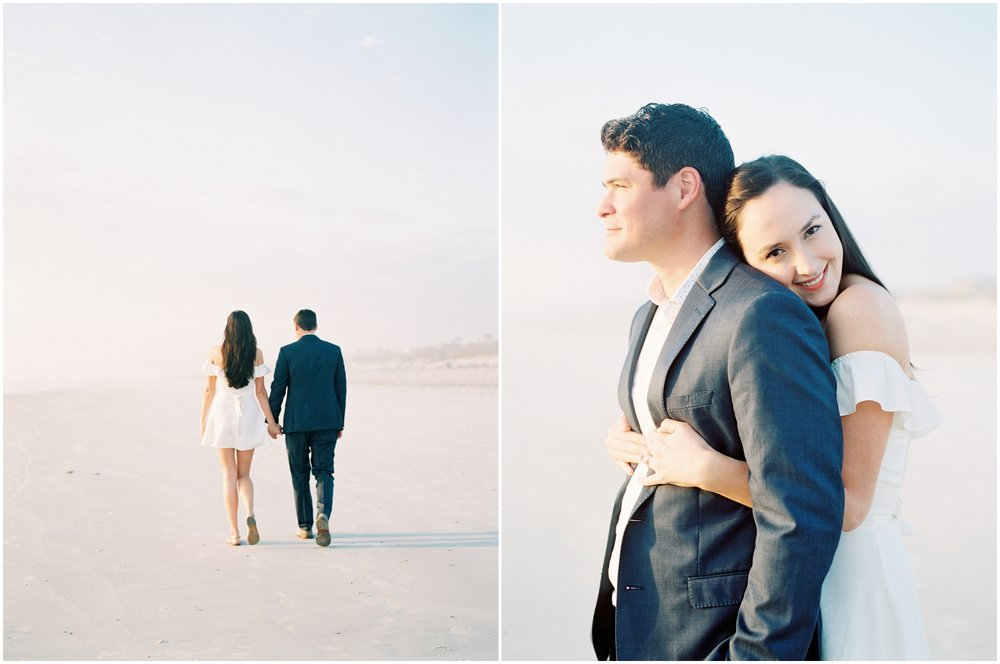Lisa Silva Photography -Engagement Session at Neptune Beach, Florida- Jacksonville and North East Florida Fine Art Film Photographer_0013.jpg