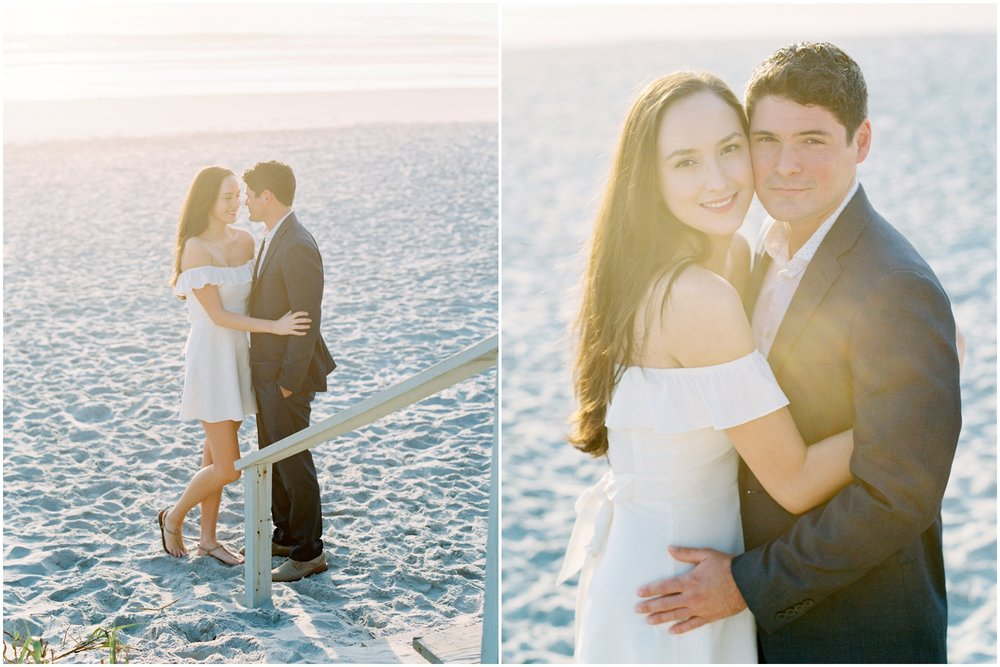 Lisa Silva Photography -Engagement Session at Neptune Beach, Florida- Jacksonville and North East Florida Fine Art Film Photographer_0018.jpg